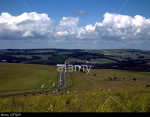 South Downs National Park, near Falmer, Brighton, Sussex