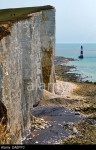 Beachy Head: the highest chalk sea cliff in Britain - 162 metres (531 ft) - one of the most notorious suicide spots in the world