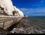 Undercliff walk near Rottingdean (Brighton), Sussex