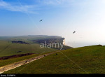 Beachy Head, near Eastbourne, East Sussex, on the south coast of England UK